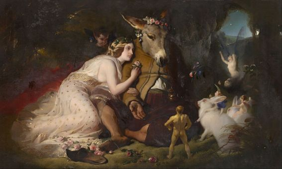 800px-Edwin_Landseer_-_Scene_from_A_Midsummer_Night's_Dream._Titania_and_Bottom_-_Google_Art_Project