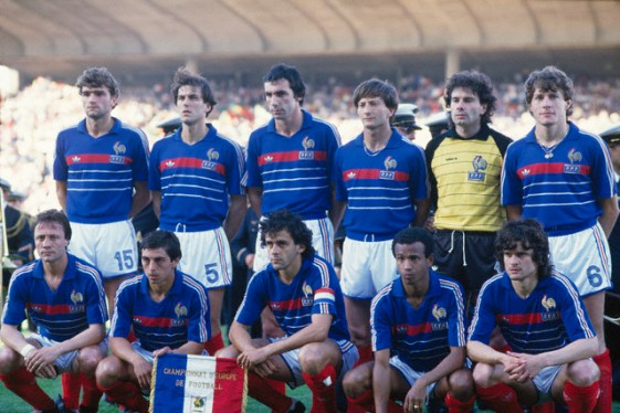 Soccer - Euro 1984 - French National Team